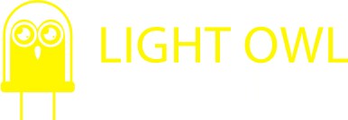 Light Owl Logo - landscape lighting company vancouver